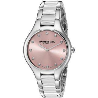 Raymond Weil Women's 5132-ST-80081 'Noemia' Diamond Stainless Steel Watch