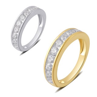 Divina 10k White or Yellow Gold 1 1/2ct TDW Diamond Wedding Band