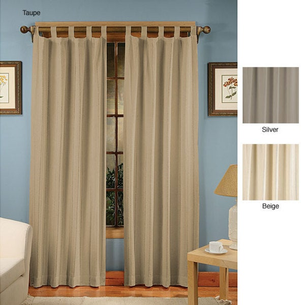 Presentation Tab Top Curtain Panel Pair Free Shipping On