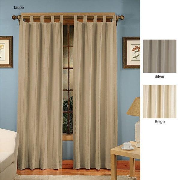 Presentation Tab Top Curtain Panel Pair