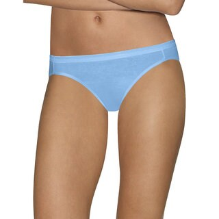 Hanes Women's Ultimate Comfort Cotton Bikini Panties (Pack of 5)