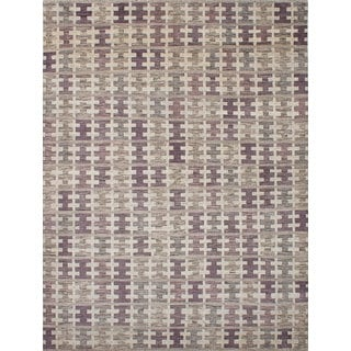 ecarpetgallery Hand-knotted Arlequin Ivory Wool Rug (8'9 x 11'9)