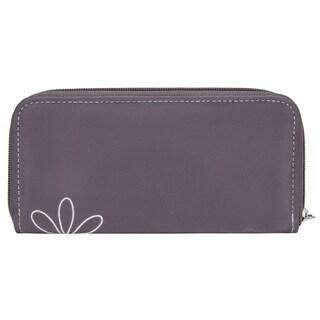 Travelon Ladies' Daisy RFID Blocking Zip Around Wallet