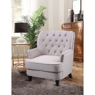 Link to Best Master Furniture ZH117 Fabric Living Room Arm Accent Chair Similar Items in Accent Chairs