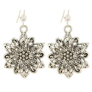 Ardent Designs Sterling Silver Crystal Alatariel Earrings