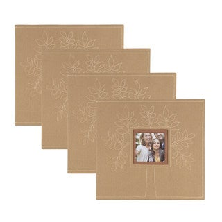 DesignOvation Family Tree Scrapbook (Pack of 4)