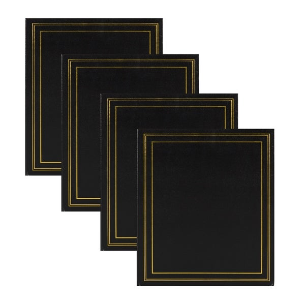 DesignOvation Traditional Photo Album, Holds 440 4x6 Photos (Set of 4). Opens flyout.