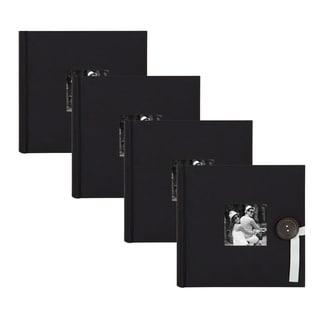 Link to DesignOvation Kim Fabric Photo Album Holds 200 4 x 6 Photos (Set of 4) - 200 photos Similar Items in Albums