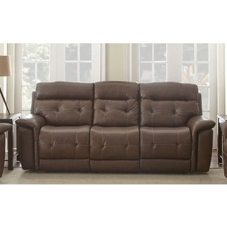 Olbia Top Grain Leather Power Reclining Sofa by Greyson Living