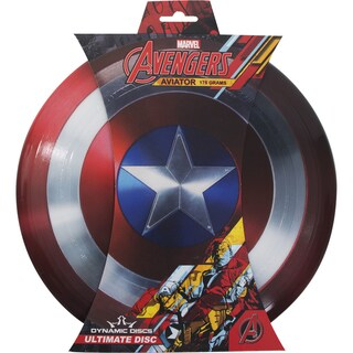 Dynamic Discs Marvel Captain America Aviator Ultimate Disc