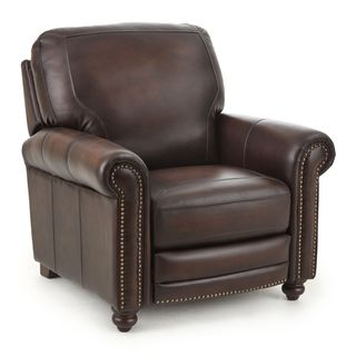 Edinburgh Top Grain Leather Recliner by Greyson Living