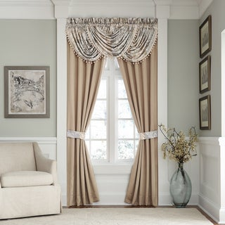 Croscill Nathaniel Rod Pocket Curtain Panel Pair