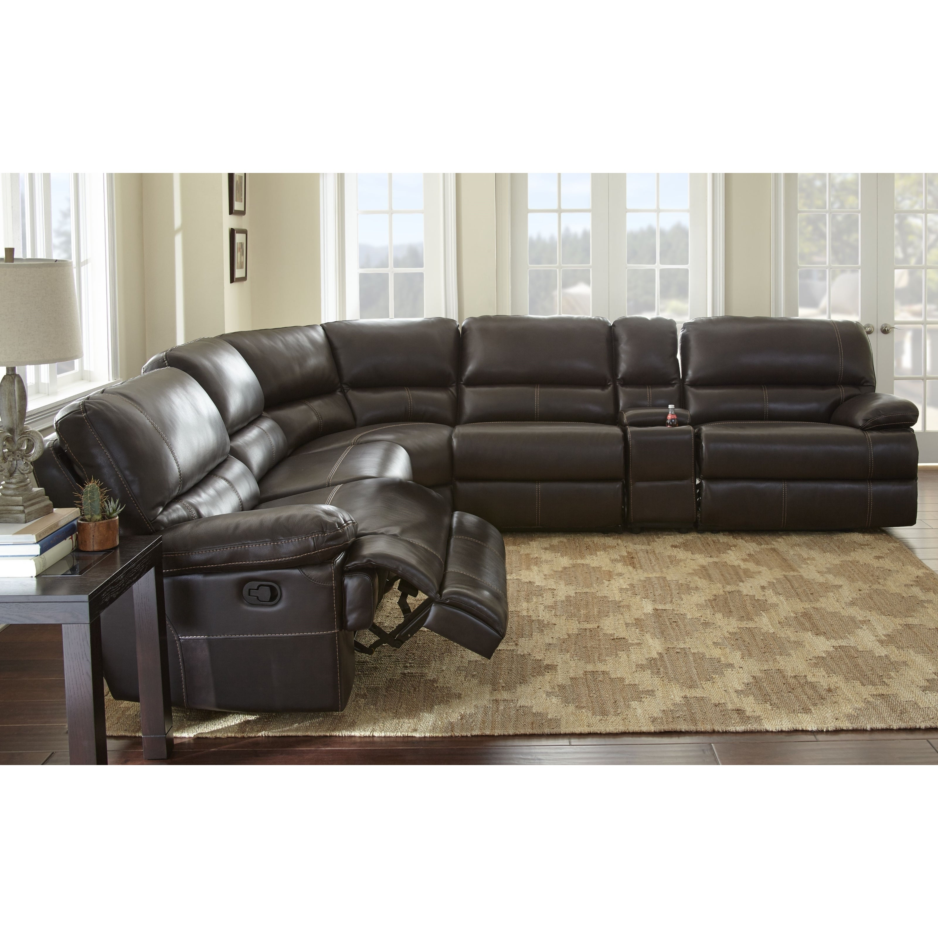 Ashley Furniture Midlothian Va: Rimini Sofa Rimini Top Grain Leather Sectional Sofa By