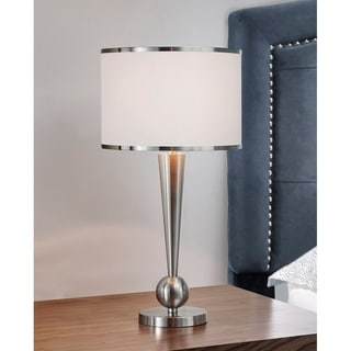 HomeTREND Dione Metal Modern Table Lamp