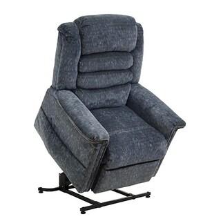 LYKE Home Galaxy Blue Recline Massage Chair