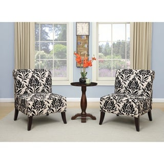 Ave Six Naomi Accent Chair with Dark Espresso Legs