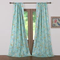 Barefoot Bungalow Cherry Blossom Curtain Panel Pair