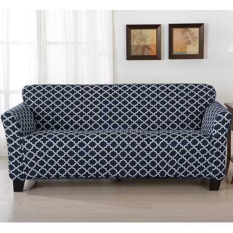 Buy Blue Sofa & Couch Slipcovers Sale Online at Overstock | Our Best ...