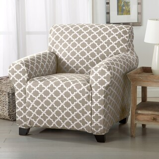 Home Fashion Designs Brenna Collection Stretch Form-Fitted Chair Slipcover