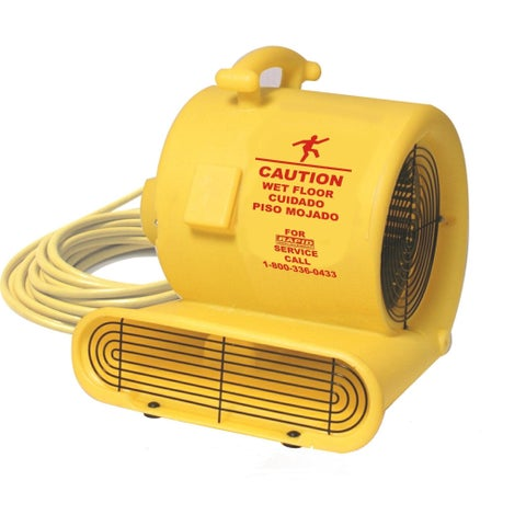 Yellow 1/3 HP 3 Speed Air Mover
