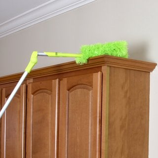 "Homiom Microfiber Duster Extendable 62"" - Soft, Fluffy, Washable, Lint free"