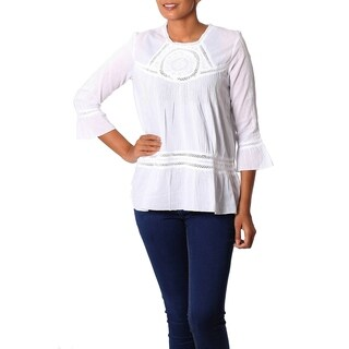 Handmade Cotton 'Summer Cool' Tunic (India) (4 options available)