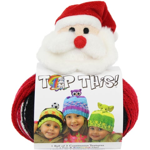 DMC Top This! Yarn-Santa