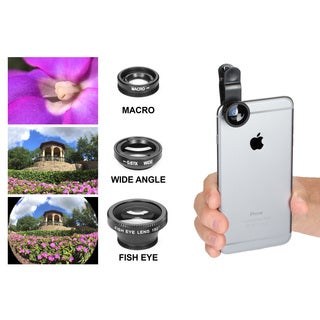 Universal Clip-on 3 in 1 Camera Lens