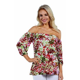 24/7 Comfort Apparel Country Gorgeous Off Shoulder Top