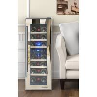 Element by Vinotemp 21-bottle Dual-zone Thermoelectric Mirrored Wine Cooler