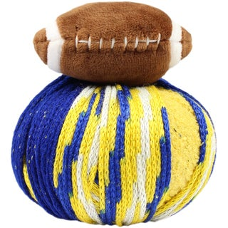 DMC Top This! Yarn-Team Colors Blue/Gold