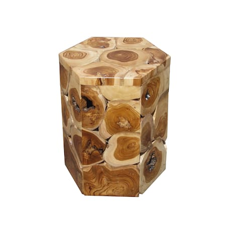 Handmade D-Art Teak Cabin Stool (Indonesia)