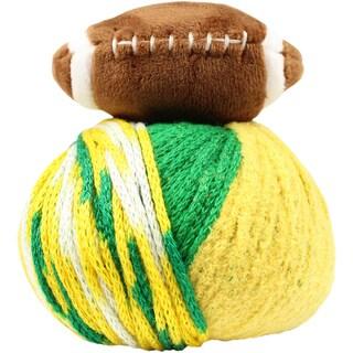 DMC Top This! Yarn-Team Colors Green/Gold