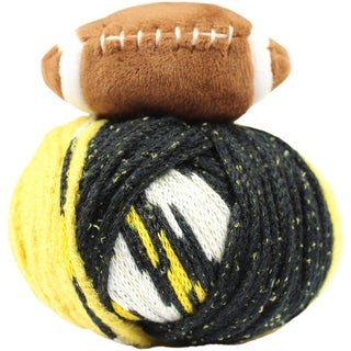 DMC Top This! Yarn-Team Colors Black/Gold