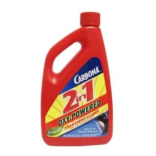 Carbona 2 in 1 Steam Carpet Cleaner, Oxy-powered, Biodegradable, 48 Fl. Oz.|https://ak1.ostkcdn.com/images/products/14638530/P21178151.jpg?impolicy=medium