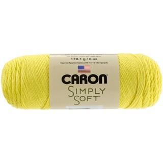 Simply Soft Brites Yarn-Super Duper Yellow