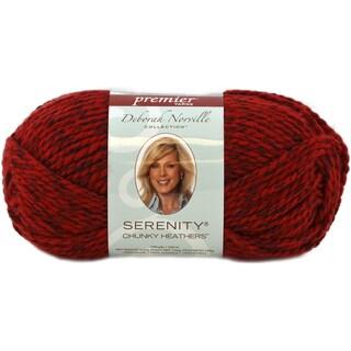 Deborah Norville Collection Serenity Chunky Heathers Yarn-Flame
