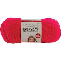 Deborah Norville Collection Everyday Solid Yarn-Neon Pink