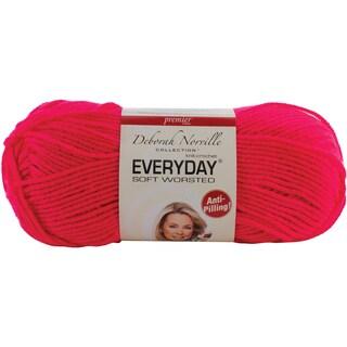 Deborah Norville Collection Everyday Solid Yarn-Neon Pink