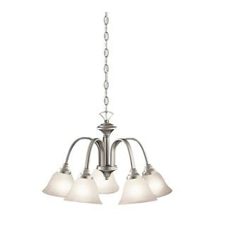 Kichler Lighting Hastings Collection 5-light Brushed Nickel Chandelier