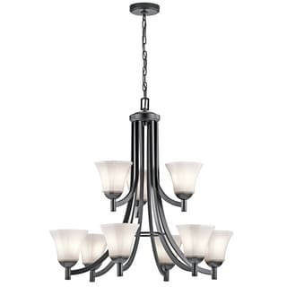 Kichler Lighting Serina Collection 9-light Black Chandelier