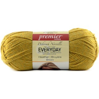 Deborah Norville Everyday Soft Worsted Heather Yarn-Golden