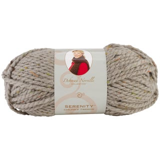 Deborah Norville Collection Serenity Chunky Tweed Yarn-Stone