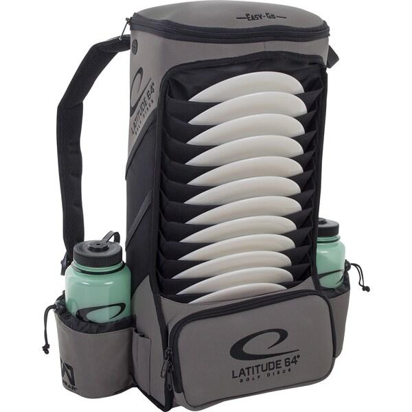 Latitude 64 Easy-Go Grey Backpack Disc Golf Bag