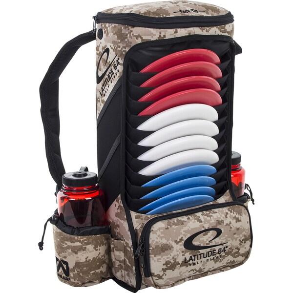 Latitude 64 Easy-Go Digital Camo Backpack Disc Golf Bag