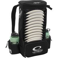 Latitude 64 Easy-Go Black Backpack Disc Golf Bag