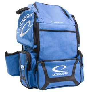 Latitude 64 DG Luxury E3 Blue/Black Disc Golf Backpack