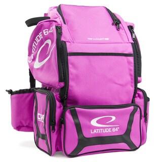 Latitude 64 DG Luxury E3 Pink and Black Backpack Disc Golf Bag