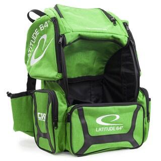 Latitude 64 DG Luxury E3 Green and Black Backpack Disc Golf Bag
