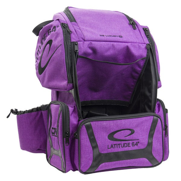 Latitude 64 DG Luxury E3 Purple Backpack Disc Golf Bag